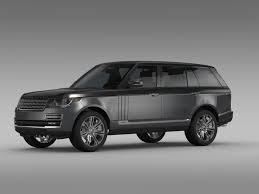 range rover svautobiography range rover svautobiography lwb l405 2016 3d model max obj 3ds fbx