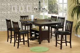dining room table beautiful counter height dining room table sets
