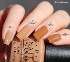 opi ice bergers u0026 fries opi a piers to be tan opi going my way or