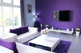 purple livingroom purple bedroom minimalist purple living room purple wall paint