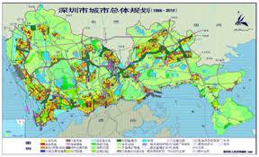 Shenzhen China Map Shenzhen Land Use Map