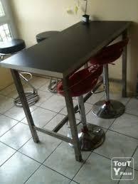 chaise haute de cuisine ikea table de cuisine haute top table en palette ides dcouvrir photos
