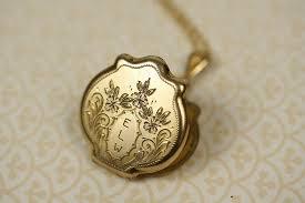 monogram locket max and monogram wedding necklace