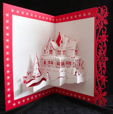 pop up card pop up card 3d card greeting card kirigami