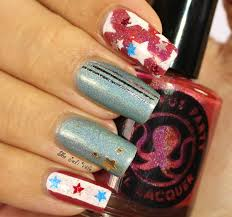 musings of the wife of a jedi 4th of july nail art design