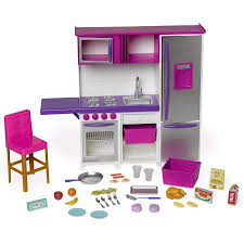 my life as doll kitchenette with large refrigerator walmart com