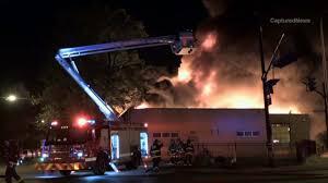 firefighter injured in lincoln park fire wgn tv