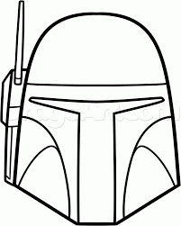 how to draw boba fett easy step by step star wars characters