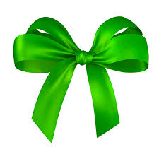 green bows happy holidays