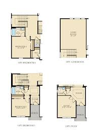 Game Room Floor Plans Stonehaven 2748 New Home Plan In Leyden Rock 40s By Lennar