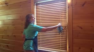 how to clean wooden blinds the fast easy way youtube