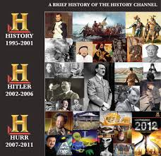 history channel these days shows everything but history no