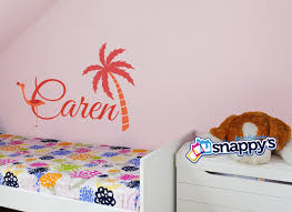 wall decals stickers snappy s boutique flamingo monogram wall decal