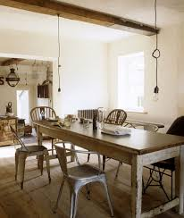 Modern Rustic Dining Room Table Rustic Dining The Style Files