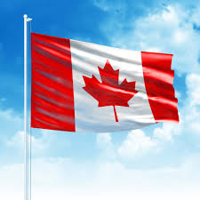Giant Canadian Flag Tear Drop Flags Custom Print With Hardware U2013 Airdancers Ca