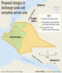 Eagle River Alaska Map by Some Anchorage Homeowners Don U0027t Pay Taxes For Park Upkeep An