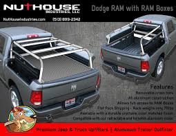 Dodge 1500 Truck Bed Cover - nutzo rambox series expedition truck bed rack nuthouse industries
