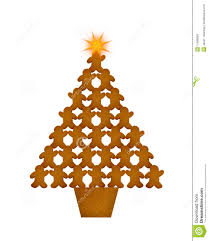 christmas tree gingerbread cookies christmas lights decoration