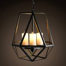 Indoor Pendant Lighting by Aliexpress Com Buy Vintage 3 Lights Loft Iron Art Candle Style