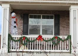 front porch christmas decorations kathe with an e front porch christmas decor