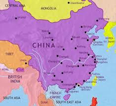 map of china map of china at 1914ad timemaps