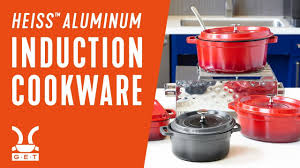 Induction Cooktop Aluminum Introducing Heiss Aluminum Induction Cookware Youtube