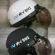 Helm Catok jual helm retro catok motif i my bike thm motorsport