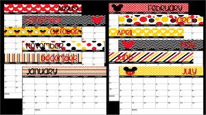 printable calendar 2016 etsy disney printable calendars 2016 blank calendar design 2018