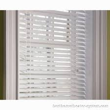 Outdoor Roll Up Shades Lowes by Inspirations Sophisticated Blackout Wood Blinds Lowes With