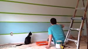 How To Paint An Accent Wall by Painting Accent Wall Youtube