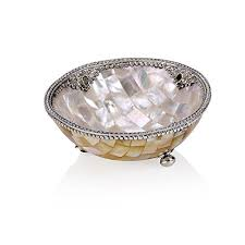 Mother Of Pearl Christmas Decorations unique and elegant coastal tableware archives christmas