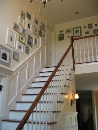 Stair Trim Molding inspiration staircases u0026 awesome photo wall photo wall