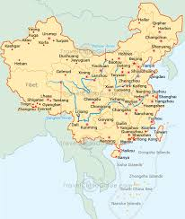 map of china and cities china cities map