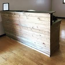 nice diy reception desk pallet reception desk and a table 101