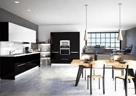 inspiration cuisine cuisine taupe et blanc awesome design cuisine bois clair et blanc
