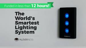 kleverness the world u0027s smartest lighting system by kleverness