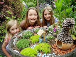 Mini Fairy Garden Ideas by 7 Diy Kids U0027 Summer Projects Outdoor Decor Pinterest Gardens