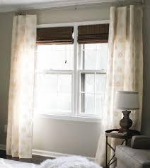 diy window curtains aka facing my sewing machine fears erin spain