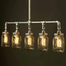 Steunk Light Fixtures Black Pipe Light Fixture Steunk Lighting Black Pipe Wall Sconce