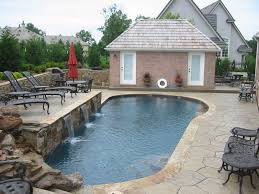 Water Features Backyard by Custom Pool Waterfalls Water Features Ponds U0026 Backyard