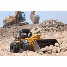 huina toys1520 car 1 14rc metal bulldozer charging rc car yellow