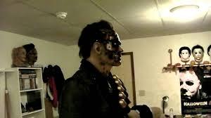 halloween 4 mask ebay terminator 2 3 costume life sized mask youtube