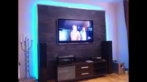 Wohnzimmerschrank Aus Ytong Led Tv Wand Selber Bauen Cinewall Do It Yourself Youtube