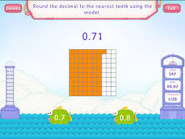 round decimals to the nearest tenth worksheets 5th grade math