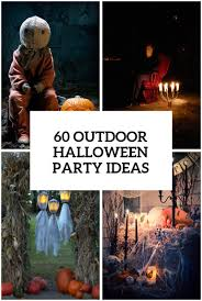 halloween party table ideas 60 awesome outdoor halloween party ideas digsdigs