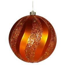 orange ornaments tree decorations target