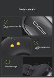 qcy q29 mini wireless bluetooth 4 1 earphones with charging box