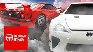 youtube lexus lfa behind the wheel supercar evolution ferrari f40 vs lexus lfa