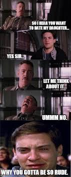Ummm No Meme - peter parker cry meme imgflip
