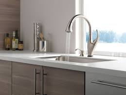delta touch2o kitchen faucet faucet com 9192t arsd dst in arctic stainless by delta